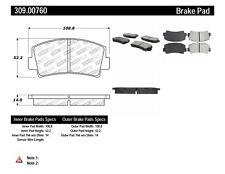 StopTech Sport Brake Pads fits 1970-1985 Mazda RX-7 B2000 RX-2  STOPTECH