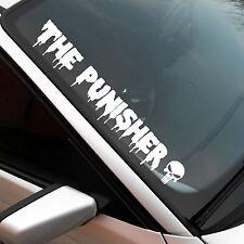 The Punisher XXL Frontscheibenaufkleber Sticker JDM OEM Auto Aufkleber Skull