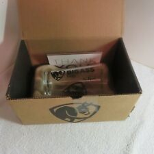 New In Box- Big Ass Fans Company - Advertising Beer Pint Glass - No Equal/Donkey