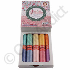Aurifil Thread Set - Darlene Zimmerman Design - 10 Small Spools 50wt Cotton Each