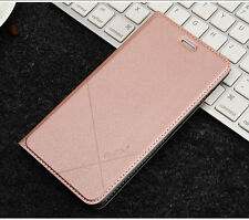 For iphone 4/SE/6S 7 8 Plus Luxury Slim Leather Flip Wallet Magnetic Case Cover