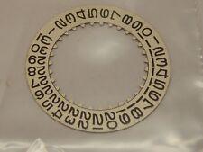 1570 1525-7961-2 Fat Font Genuine Rolex Date Indicator Silver