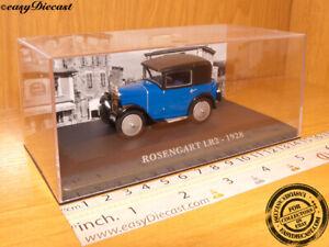 ROSENGART LR2 LR-2 1928 1:43 MINT WITH BOX ART!!!