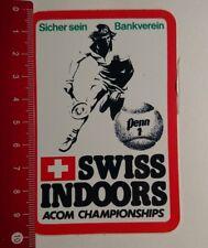 Aufkleber/Sticker: Swiss Indoors Acom Campionships (170317197)