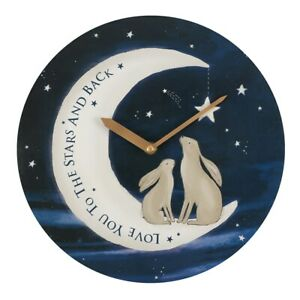 Love You To The Stars and Back Wall Clock 28cm Diameter