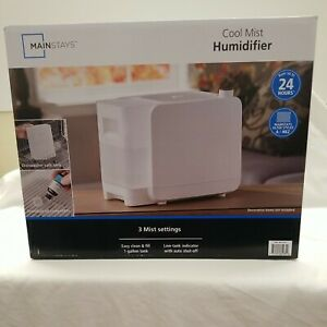 Mainstays Cool Mist Humidifier 1 gal MDH-0103JW - White Whole room Humidifier