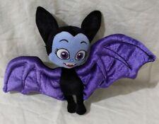 "Disney Junior Vampirina Purple Bat Wings Plush Toy 8 1/2"""
