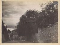 Taormina Sicilia Italia Foto Amateur Vintage Analogica Verso 1910