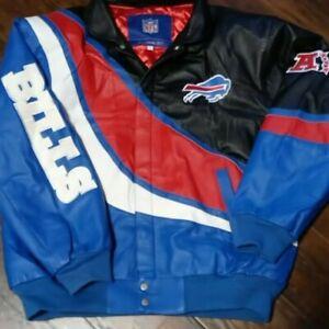 Buffalo Bills Jeff Hamilton Leather Jacket NWT