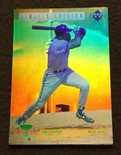 JOE CARTER 1992 DENNY'S GRAND SLAM HOLOGRAM BASEBALL CARD -TORONTO BLUE JAYS