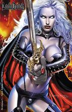 Lady Death Revelations #1 GREG HORN Pin-up Artbook Ltd. Ed. 350 Comic Book