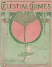 Celestial Chimes 1913 vintage sheet music