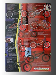 Collectable 1999 Robinson Racing bicycle, product catalog/mailer, new products