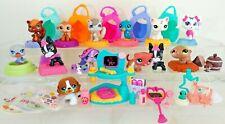 LPS Littlest Pet Shop Mixed Lot w 16 Figures Vet Office Playset Accessories Mini