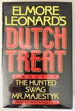 Dutch Treat - Elmore Leonard PRISTINE Arbor House H/C - Book Club 1977