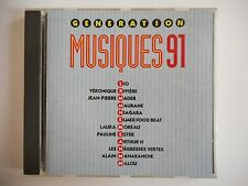GENERATION MUSIQUE 91 : LIO, NIAGARA, MAURANE, ARTHUR H  | CD Album RTL Port 0€