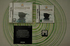 Commander europe at war nintendo ds pal