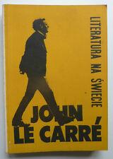 John le CARRE Literatura na Świecie 1989 7 216 Blake, Dorn, Frye, poezja albańsk