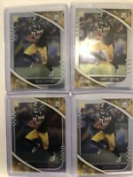🔥Lot of (4) 2020 Absolute Chase Claypool RC Base Invest Rookie Steelers