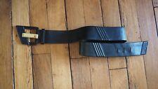 Yves Saint Laurent - YSL ceniture en cuir vintage noire