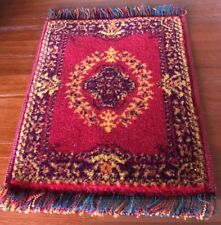 Quality Wool Rug Made In Austria, Dolls House Miniature, Floor Covering Mat