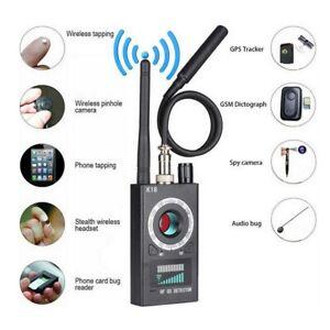 K18 Anti-Spy GPS Signal Lens RF Tracker Hidden Camera GSM SPY Bug Detector