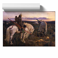 Viktor Vasnetsov Knight at the Crossroads Poster Print Wall Art Unframed Picture