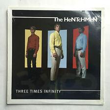 THE HENTCHMEN - THREE TIMES INFINITY * LP VINYL * FREE P&P UK * ED 294 * SEALED