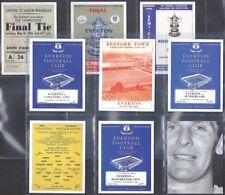 SPORTING PROFILES-FULL SET- EVERTON PROGRAMMES FOOTBALL (L9 CARDS) - EXC+++