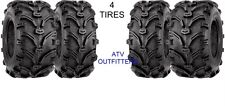 SET OF 4 KENDA K299 BEAR CLAW ATV TIRES 27-9-12 FRONT & 27-11-12 REAR 2 OF EACH