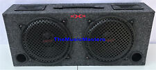 "Empty 10"" inch 2-Way Truck SUV Hatchback BASS BOX Car Audio Sub Woofer Speaker"