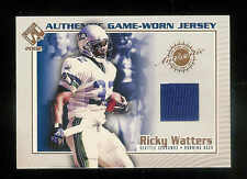 2002 PACIFIC PRIVATE STOCK GAME WORN JERSEYS RICKEY WATTERS JERSEY /403 SEAHAWKS