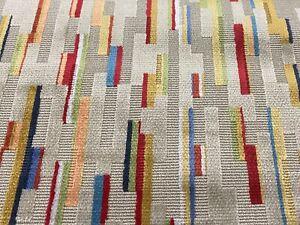 GP & J Baker Contemporary Velvet Uphol Fabric- Fairford / Bronze Multi 0.85 yds