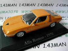 RBA1M voiture 1/43 RBA Italie IXO : ALFA ROMEO Montréal 1970