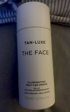 Tan Luxe The Face Anti-Age Rejuvenating Self Tan Drops 30ml Light/Medium