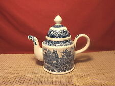 Villeroy & Boch Blue Castle Pattern Coffee Pot
