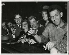 Erika STONE: Sammy's Bar, Bowery, NYC, 1946 / Silver / PHOTO LEAGUE / SIGNED!