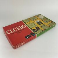 Vintage Cluedo Board Game By Waddingtons - 100% Complete Classic Detective Game