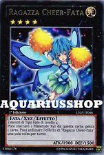 Yu-Gi-Oh! Ragazza Cheer Fata LTGY-IT046 Rara in ITA Fortissima Carta XYZ   Nuova