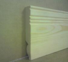 "10 x 2.4m reeded/torus design 5"" dual purpose skirting board (24m)"