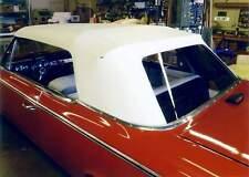 RAMBLER AMBASSADOR, CLASSIC  1965-66 CONVERTIBLE TOP+WINDOW - BLACK or WHITE