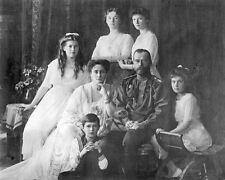 11x14 Photo Last Tsar of Russia Nicholas II & Romanov Family