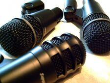 Superlux DRK-A3 3pc tambour Microphones Set + 6 m XLR conduit