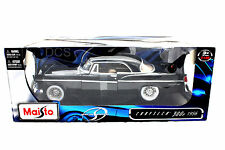 MAISTO 1956 CHRYSLER 300B BLACK 1/18 DIECAST CARS