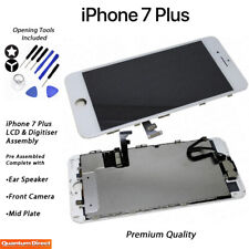 NEW iPhone 7 Plus Retina LCD Digitiser Touch Screen Full Assembly w/Parts WHITE