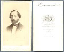 Darmond vintage carte de visite, CDV  CDV, tirage albuminé, 6 x 10.5 cm, vinta