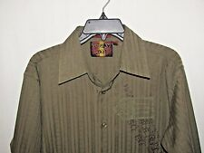 Franky Max Long Sleeve Button Up Shirt Size M