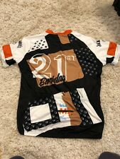 Mens L PRIMAL Cycling S/S Shirt Bike to Jack Daniels Back 21st Birthday 2015 Euc