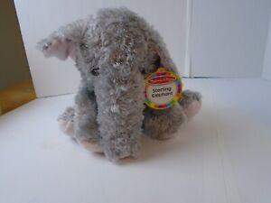 "12"" Melissa & Doug Sterling the Elephant Plush Stuffed Animal"