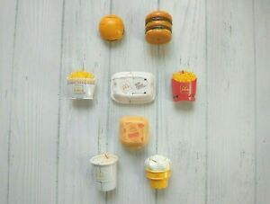 McDonalds McDino Changeables Happy Meal Transformer Toys 1987 1988 Set Lot of 8